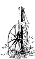 Wagon Wheel TCP Logo